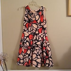 TEMPORARILY ON HOLD Gorgeous Floral Orange Dress
